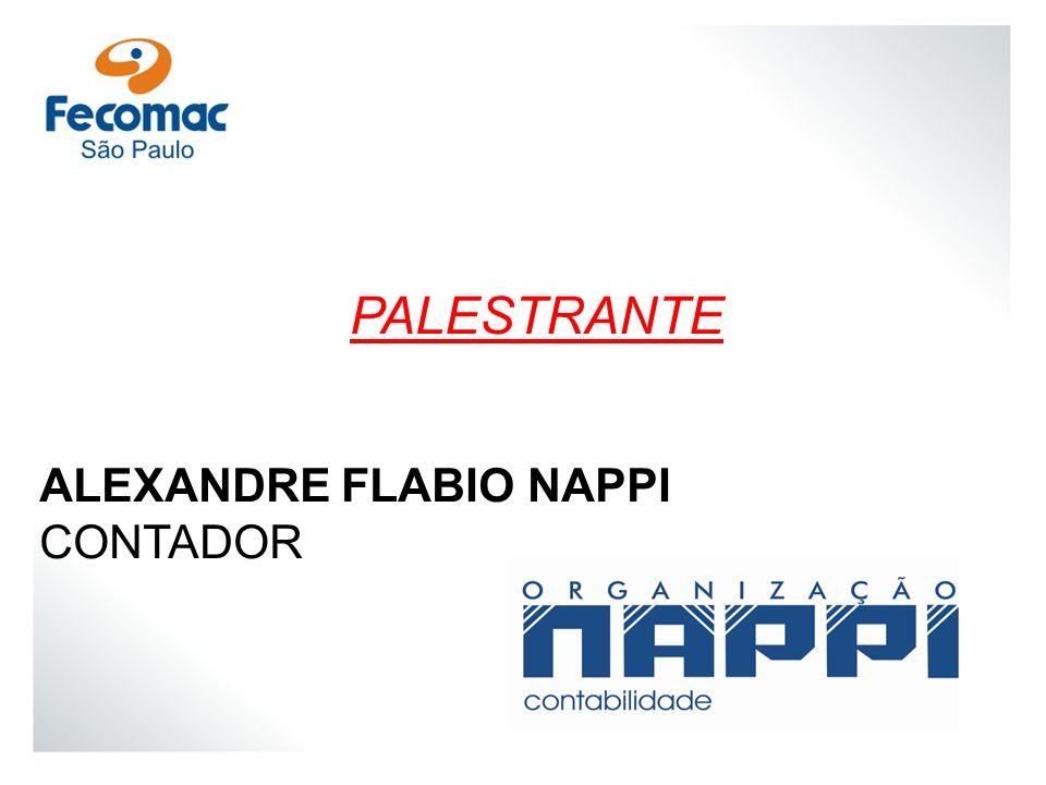 PALESTRANTE ALEXANDRE FLABIO NAPPI CONTADOR