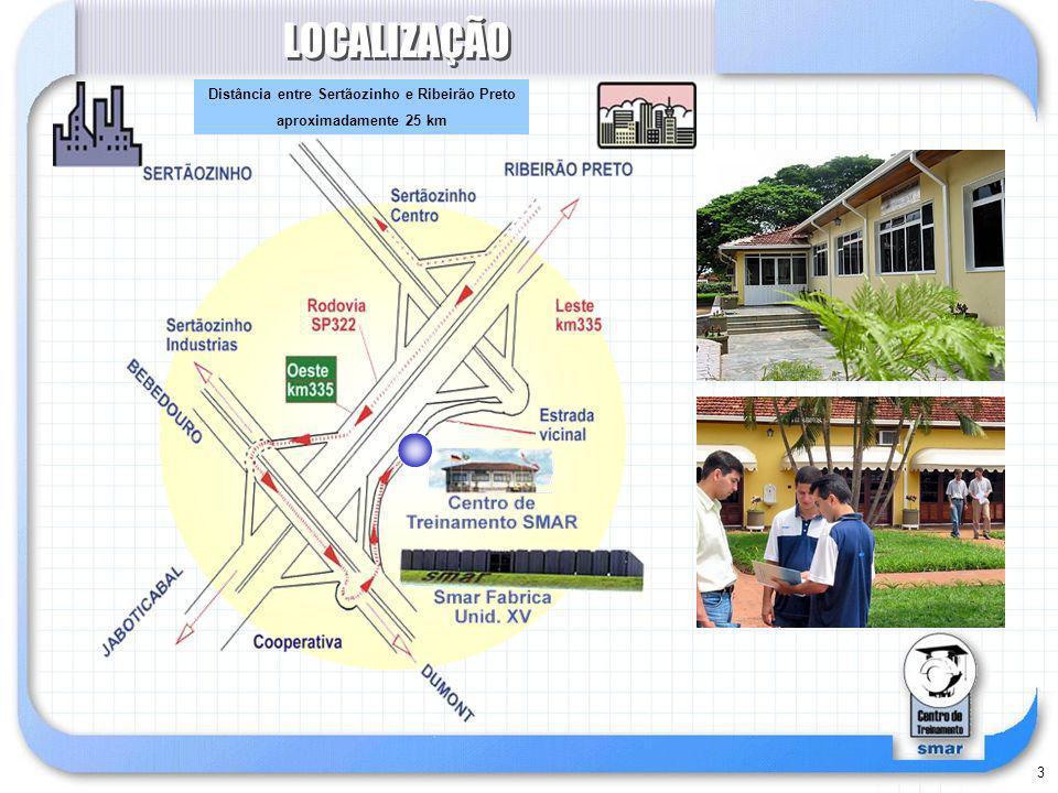 3 LOCALIZAÇÃO Distância entre Sertãozinho e Ribeirão Preto aproximadamente 25 km