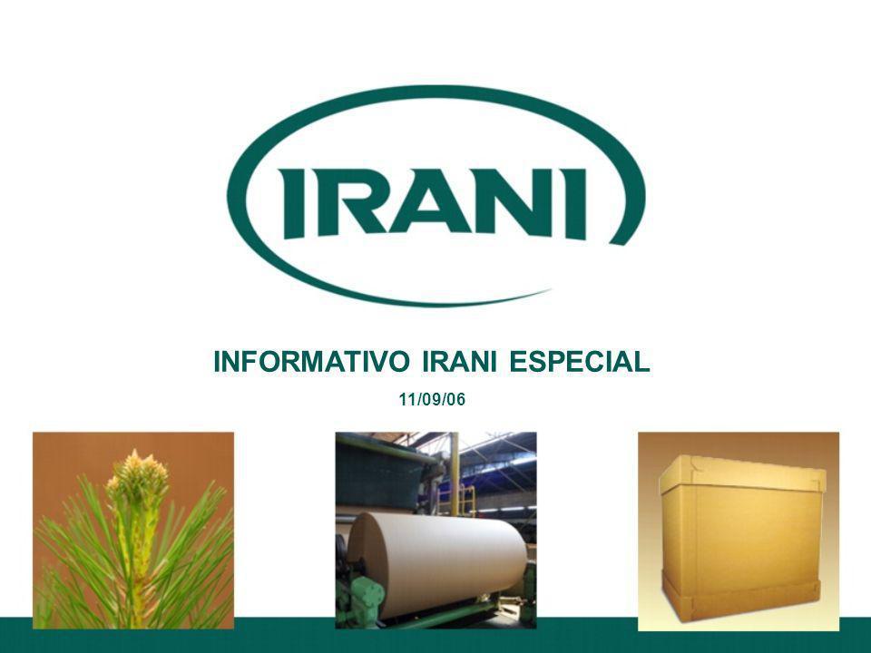 INFORMATIVO IRANI ESPECIAL 11/09/06