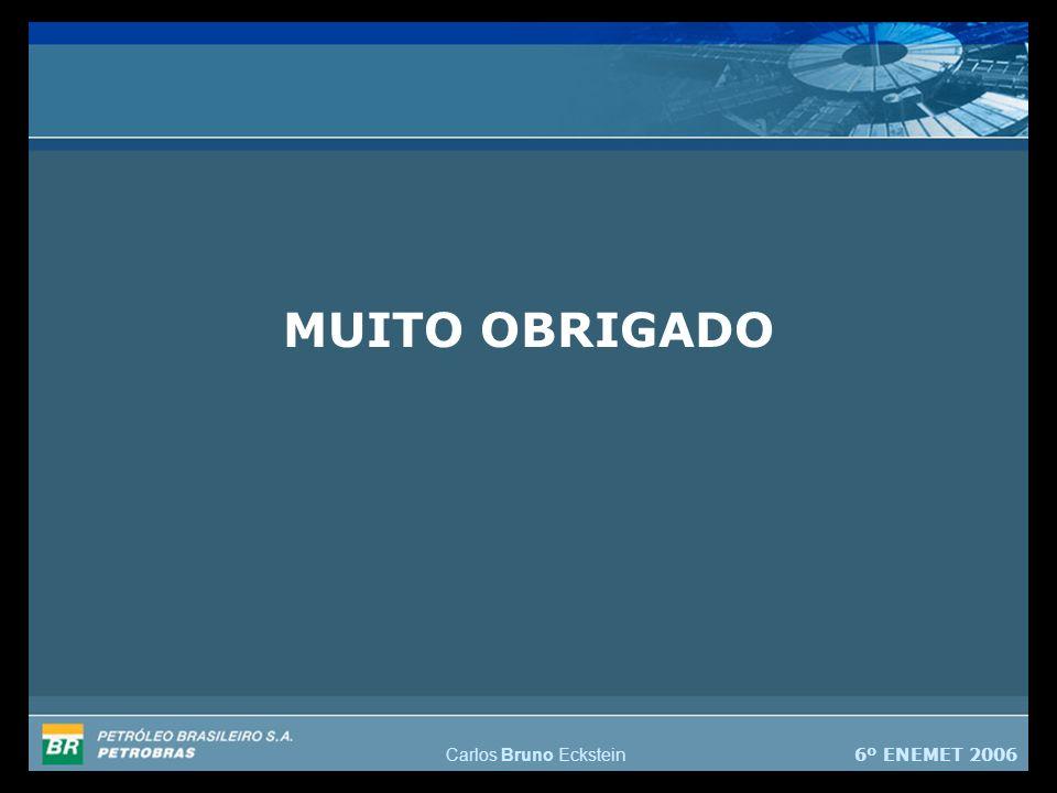 6º ENEMET 2006 Carlos Bruno Eckstein MUITO OBRIGADO