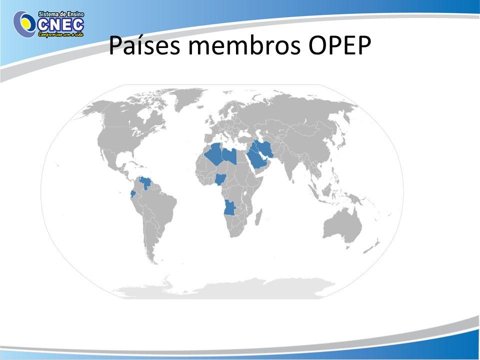 Países membros OPEP