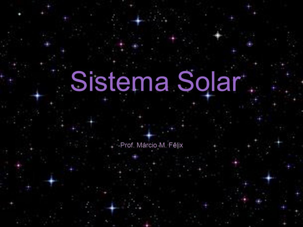 Sistema Solar Sol Mercúrio Vênus Terra Lua Marte Júpiter Saturno Urano Netuno