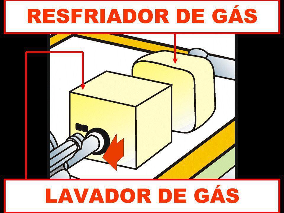 LAVADOR DE GÁS RESFRIADOR DE GÁS