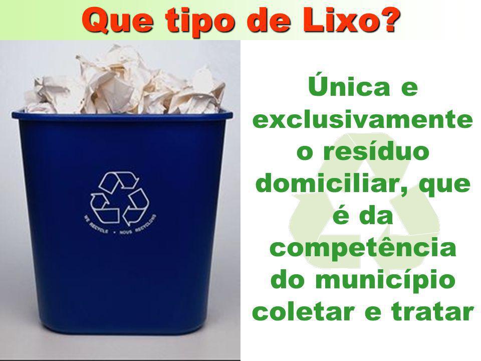 O objetivo desta planta é o de eliminar a maior parte das características negativas do lixo: mau cheiro;mau cheiro; fermentação;fermentação; produção