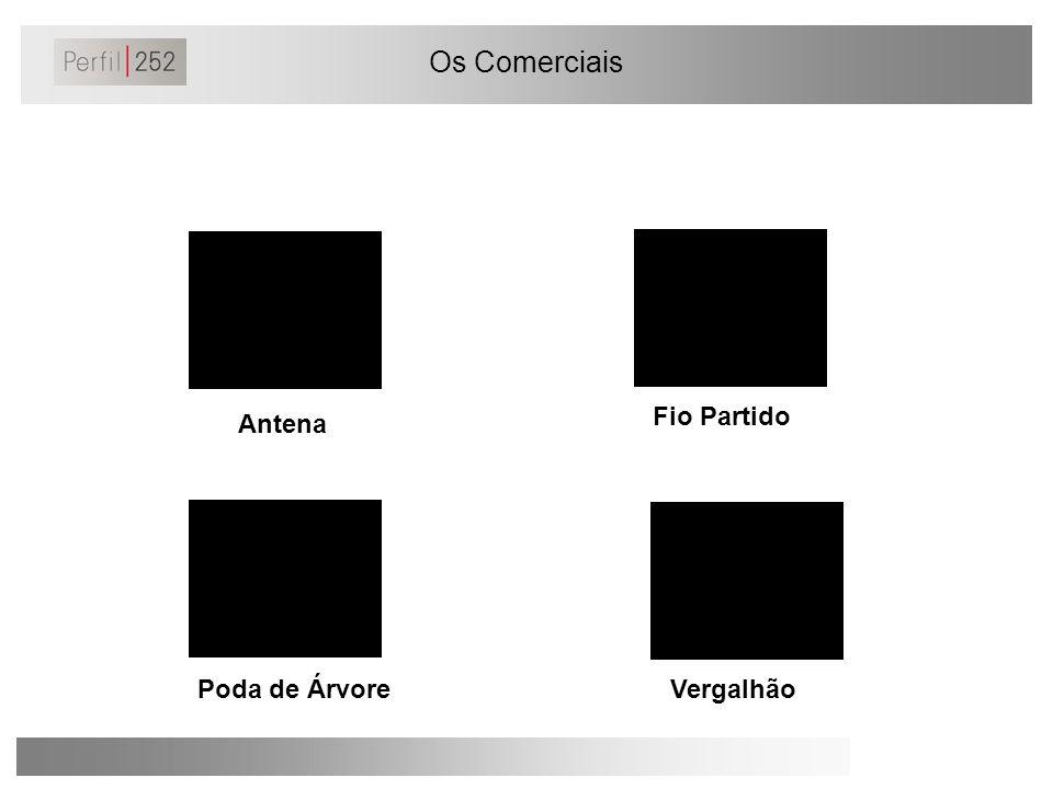 Os Comerciais Antena Fio Partido Poda de ÁrvoreVergalhão