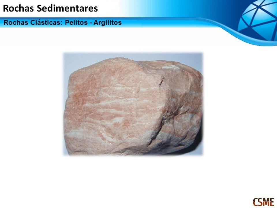 Rochas Sedimentares Rochas Clásticas: Pelitos - Argilitos