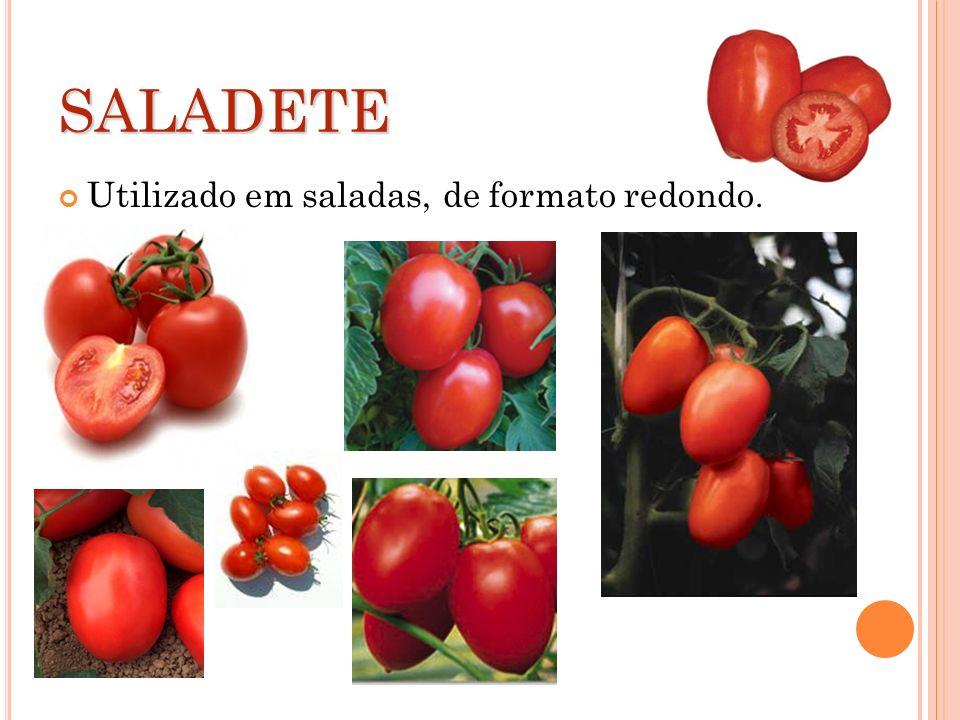 SALADETE Utilizado em saladas, de formato redondo.