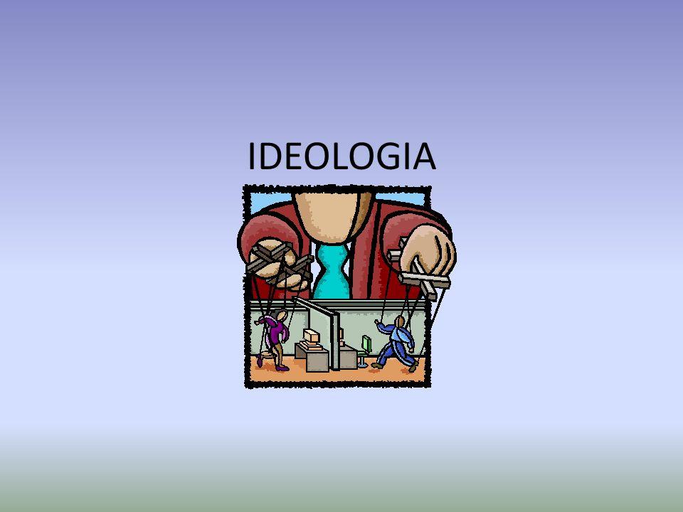 Somos levados a crer que são as ideias que movem a história, porque a ideologia dominante alienou o homem, atribuindo sua origem social a forças alheias, superiores e independentes da sua, como a Natureza, o Destino, o Estado...