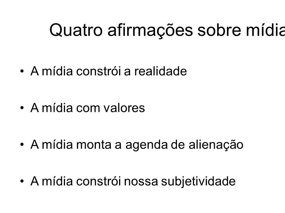 A mídia no Brasil Ausência de regulamentação (ADI dos advogados –Fábio Konder Comparato) Inexistência de Direito de Resposta Não regulamentação dos Conselhos A questão da Propaganda para Crianças