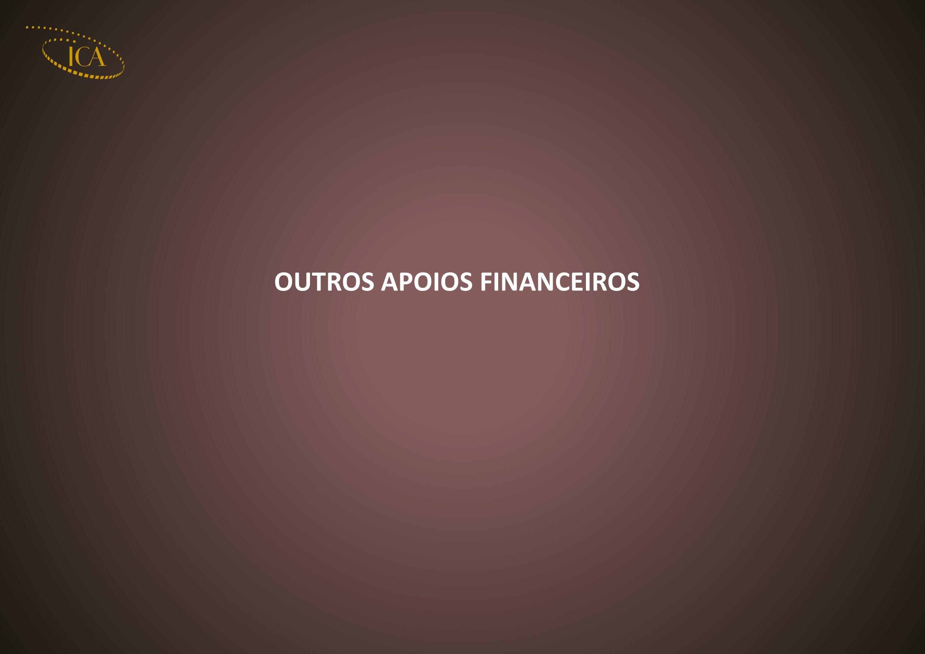 OUTROS APOIOS FINANCEIROS