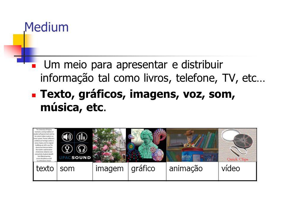 Multimédia é Multidisciplinar!