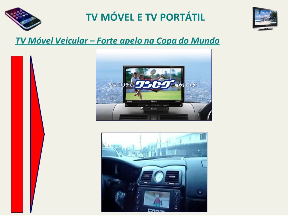 TV Móvel Veicular – Forte apelo na Copa do Mundo TV MÓVEL E TV PORTÁTIL