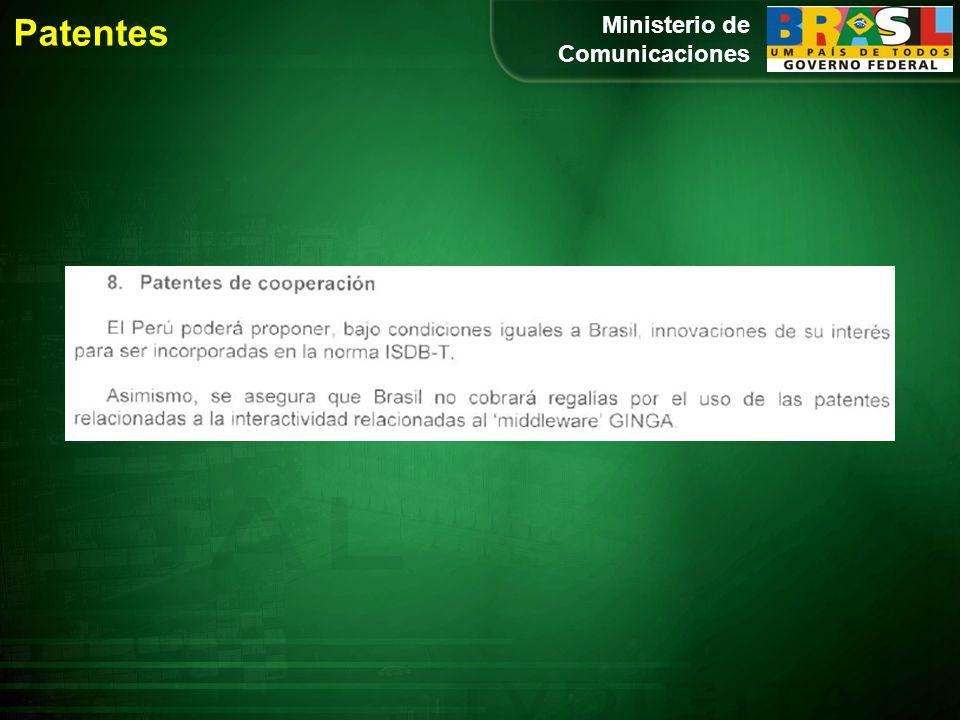 Ministerio de Comunicaciones Patentes