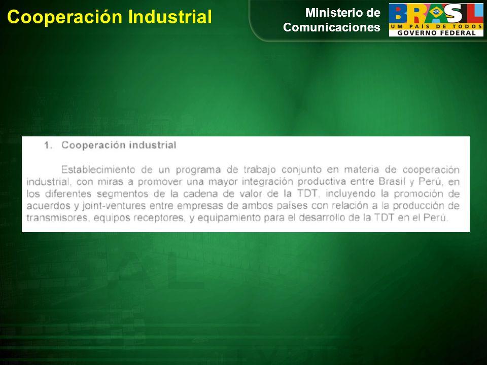 Ministerio de Comunicaciones Cooperación Industrial