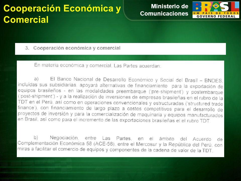 Ministerio de Comunicaciones Cooperación Económica y Comercial