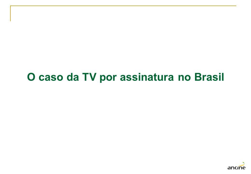 O caso da TV por assinatura no Brasil
