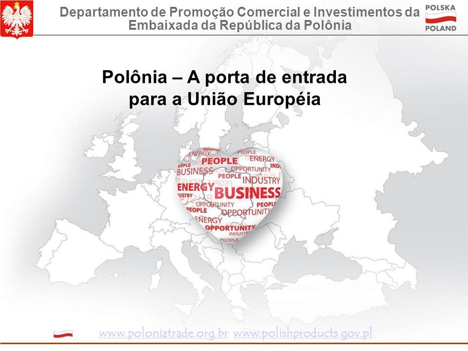 O fluxo do investimento estrangeiro direto em 2000-2008 (bilhões de USD) * Valor estimado do investimento estrangeiro direto em 2007 e assumindo que o capital em trânsito foi no nível de 2006 (USD 4,3 bilhões) Fonte: Banco Central da Polônia