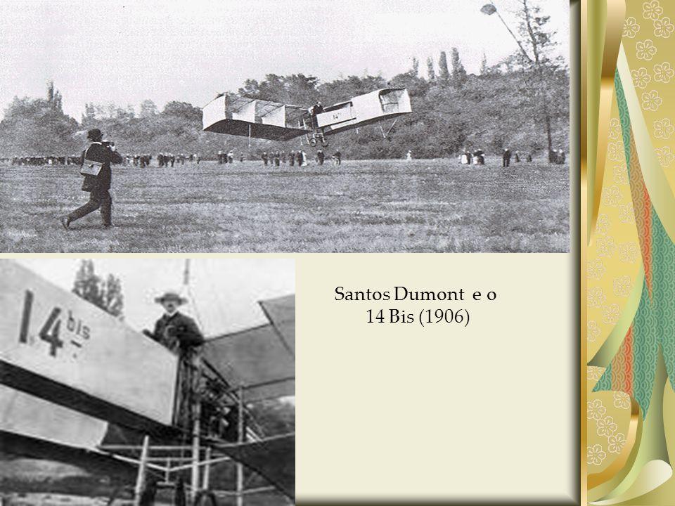 Santos Dumont e o 14 Bis (1906)