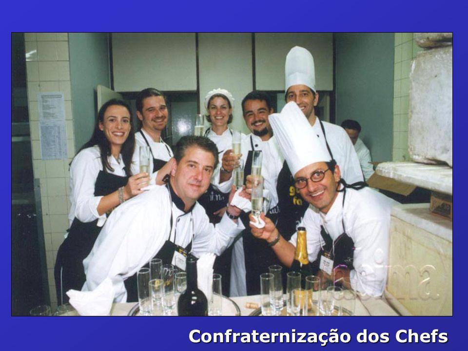 Confraternização dos Chefs