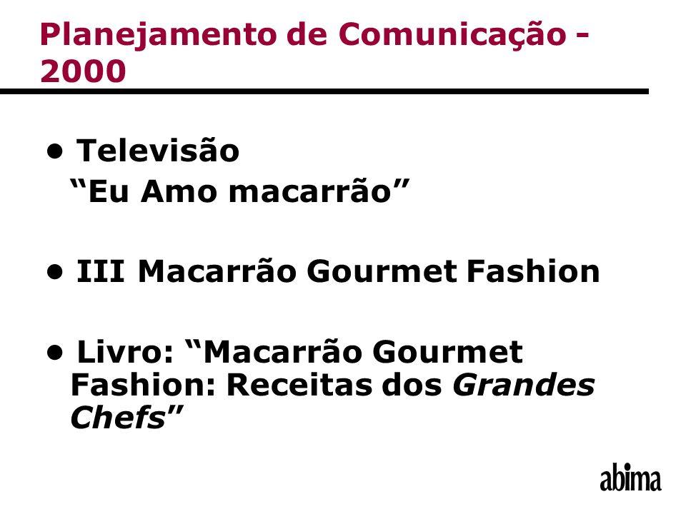 Televisão Eu Amo macarrão III Macarrão Gourmet Fashion Livro: Macarrão Gourmet Fashion: Receitas dos Grandes Chefs Planejamento de Comunicação - 2000