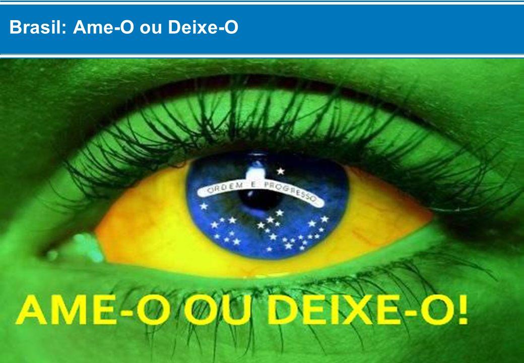 Brasil: Ame-O ou Deixe-O