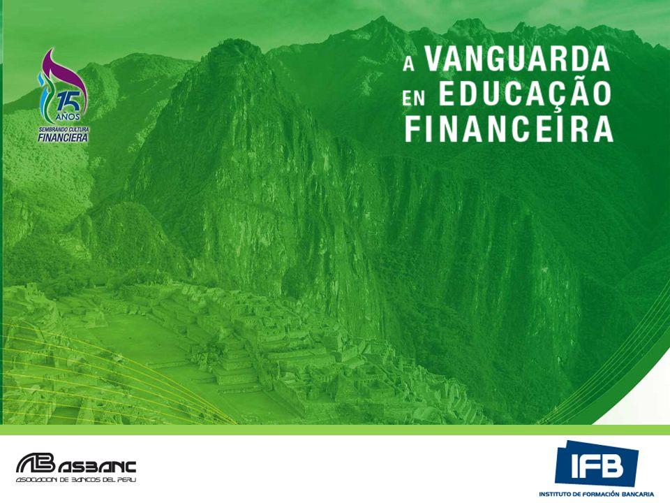 Nossa Missão ELEVAR A ESPECIALIZAÇÃO E CULTURA FINANCEIRA DO PAÍS Cultura BancariaCapacitaciónInclusión Financiera