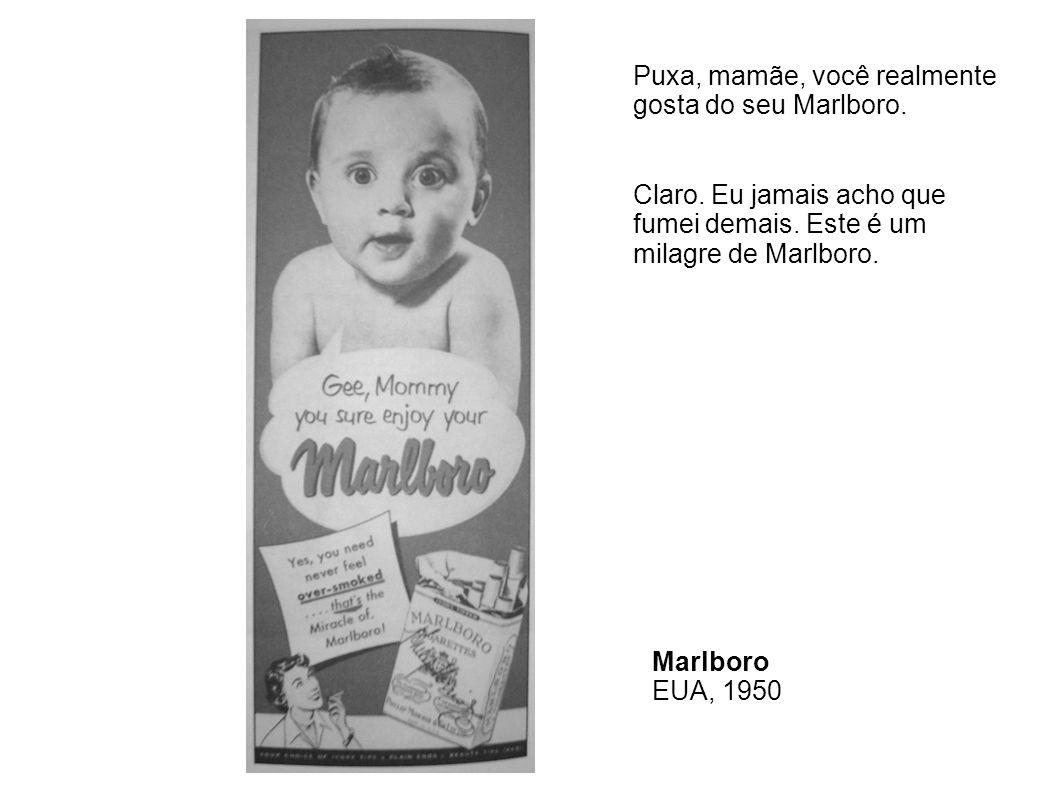 Para tornar o cigarro atraente para as crianças, a R.J.