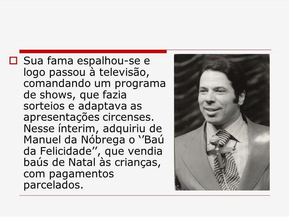 Grupo Silvio Santos Silvio possui mais de 40 empresas pertencentes ao Grupo Silvio Santos, as principais são o Sistema Brasileiro de Televisão (SBT) e Jequiti.