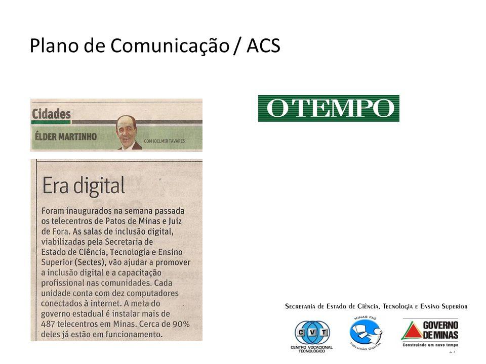 17 Plano de Comunicação / ACS