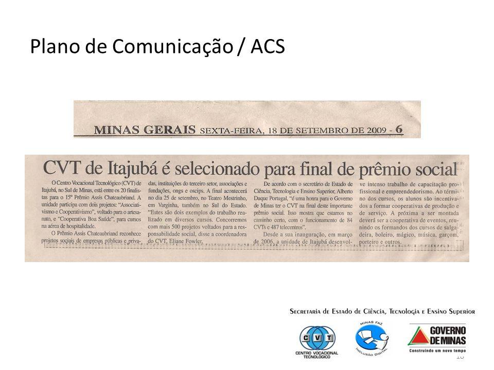 18 Plano de Comunicação / ACS
