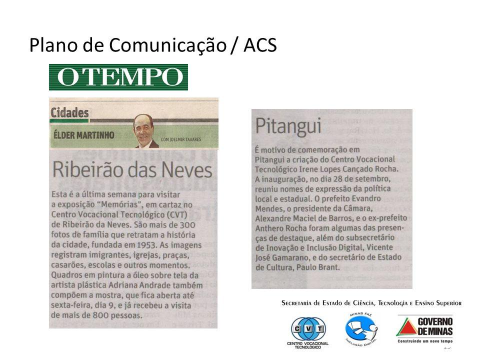 19 Plano de Comunicação / ACS