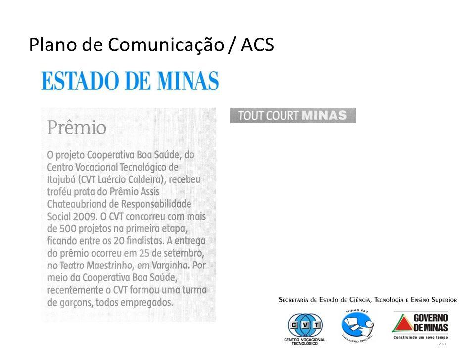 20 Plano de Comunicação / ACS