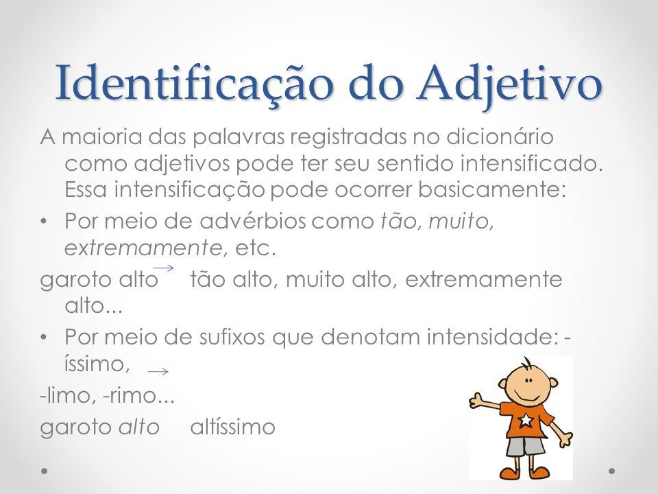 Adjetivo e Substantivo Leia o verbete: brasileiro Adj.