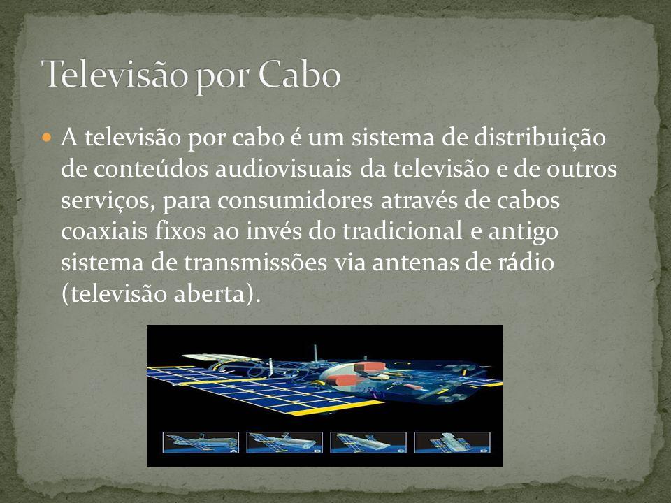 O progresso da Engenharia Espacial e das Comunicações permitiu lançar satélites em órbita à volta da Terra. São eles que garantem as transmissões tele