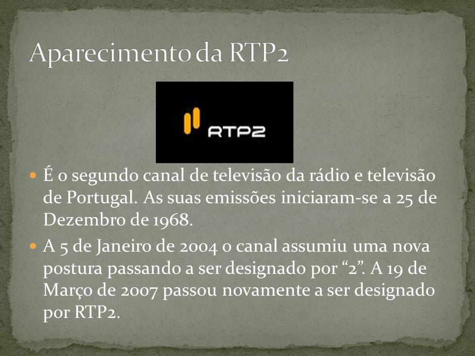 Surgiu em 1957, sendo um grande fenómeno a nível nacional. A RTP1 é o primeiro canal da Rádio Televisão de Portugal. As suas emissões experimentais in