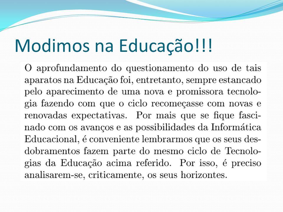 Modimos na Educação!!!