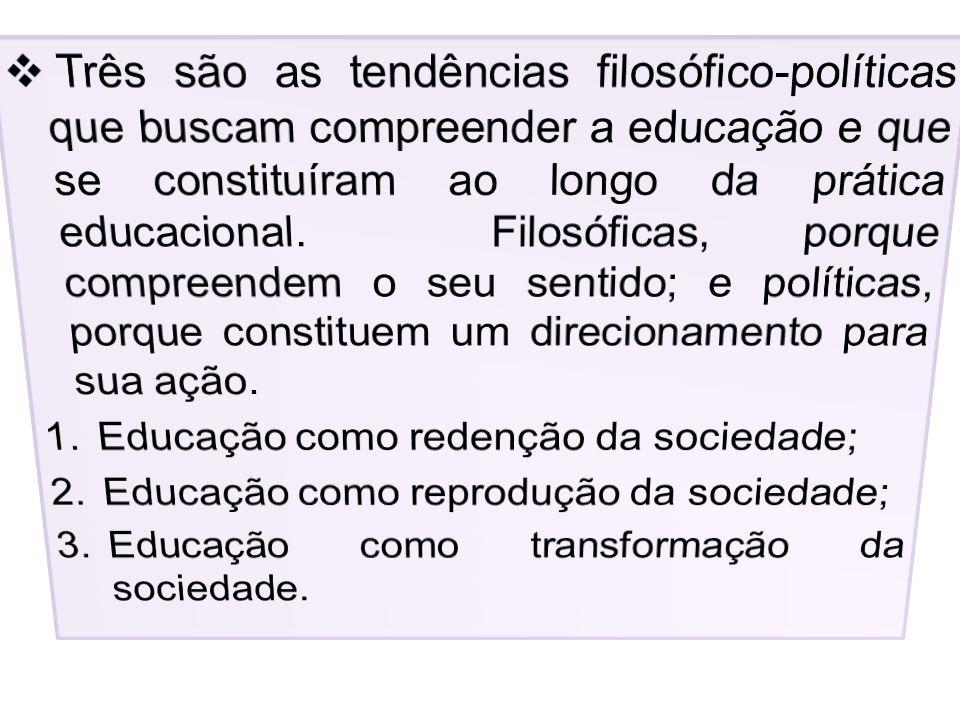 3. Educação como transformação da sociedade