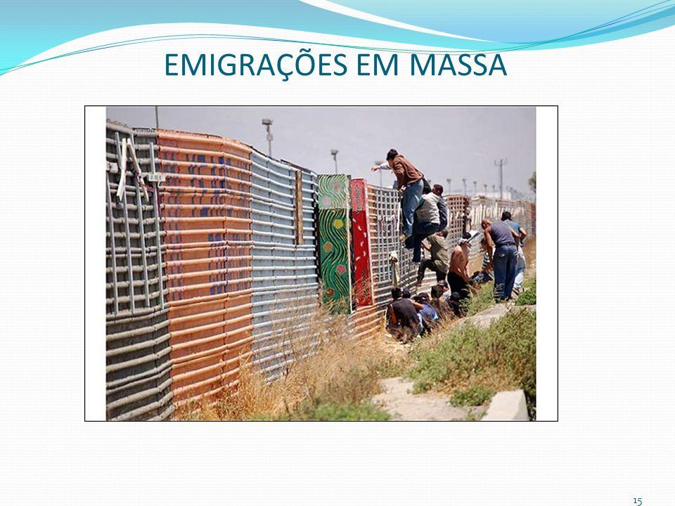 EMIGRAÇÕES EM MASSA 15