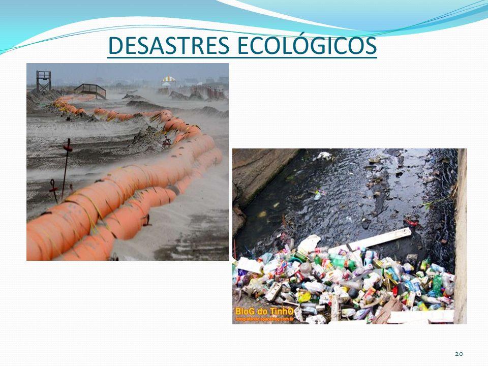 DESASTRES ECOLÓGICOS 20