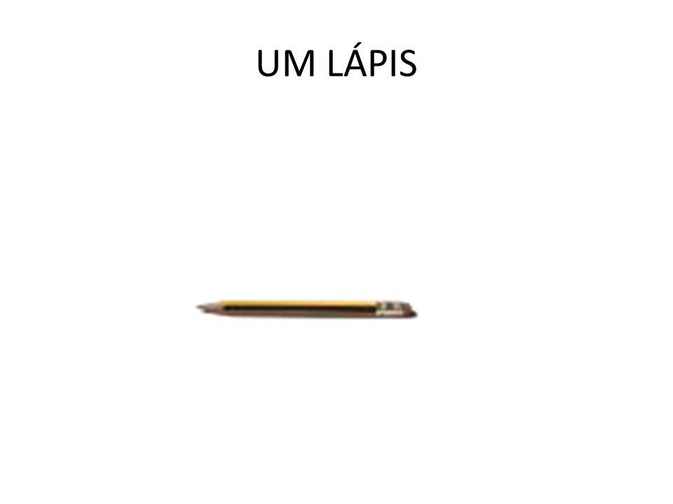 UM LÁPIS
