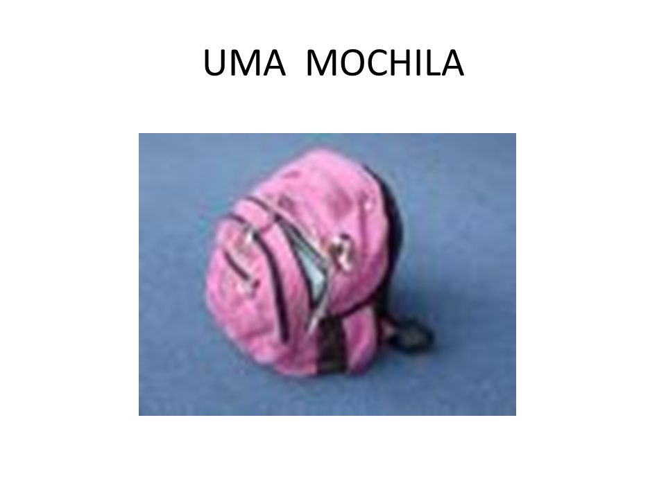 UMA MOCHILA