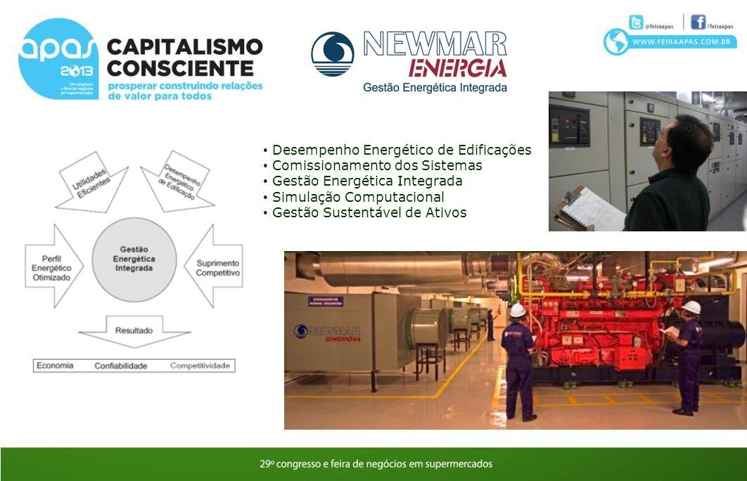 Desempenho Energético de Edificações Comissionamento dos Sistemas Gestão Energética Integrada Simulação Computacional Gestão Sustentável de Ativos