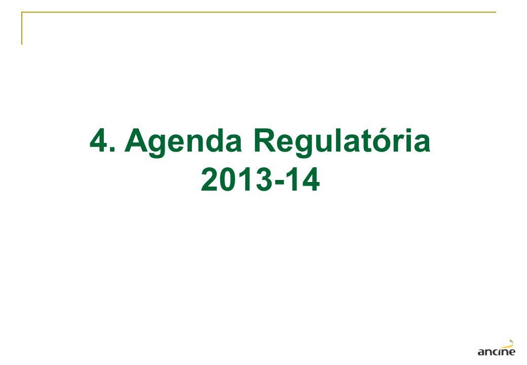 4. Agenda Regulatória 2013-14