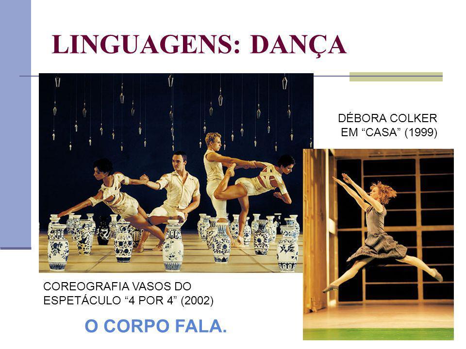 LINGUAGENS: DANÇA DÉBORA COLKER EM CASA (1999) O CORPO FALA.