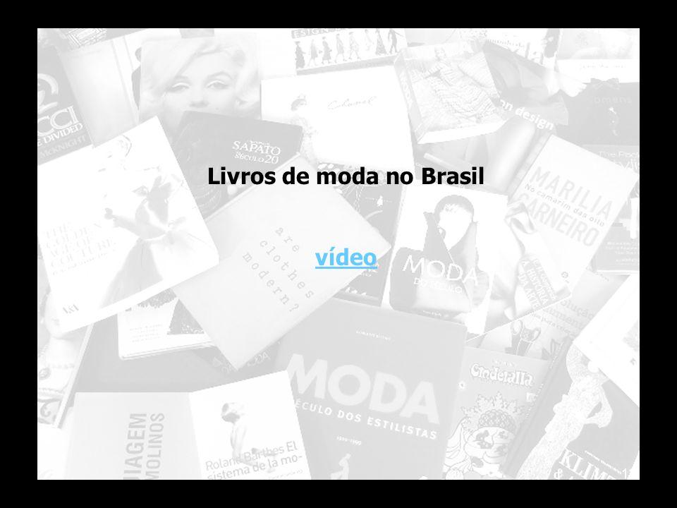 12 Livros de moda no Brasil vídeo