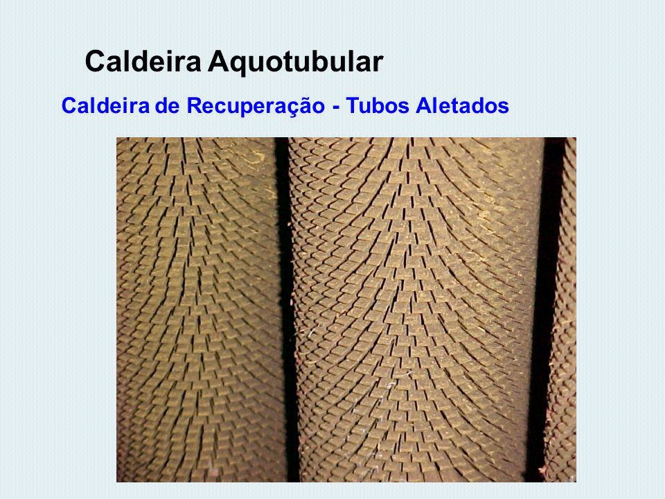 Caldeira de Recuperação - Tubos Aletados Caldeira Aquotubular