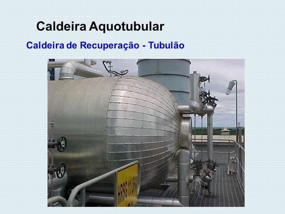 Caldeira de Recuperação - Tubulão Caldeira Aquotubular