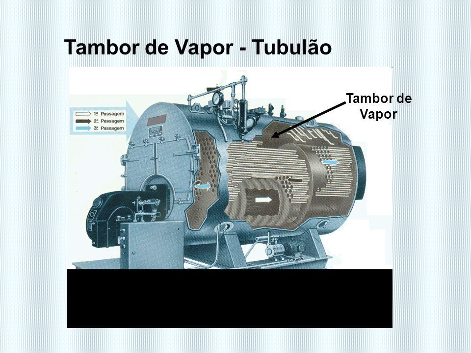 Tambor de Vapor Tambor de Vapor - Tubulão