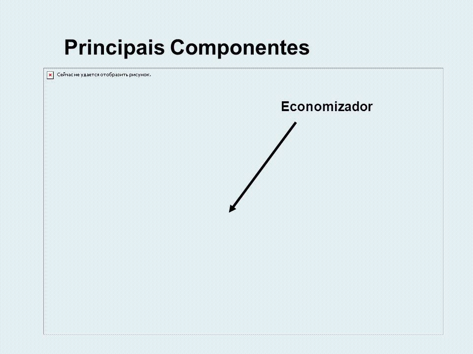 Economizador Principais Componentes