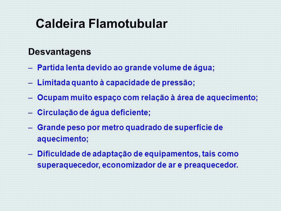 Principais Componentes Fornalha Local destinado à queima do combustível, onde o calor é gerado através de reações de combustão.